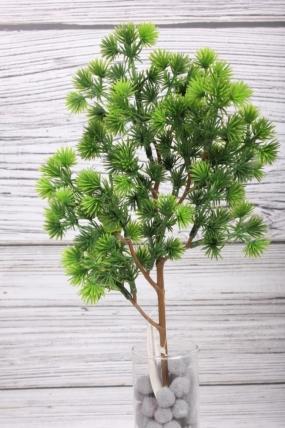 Искусственное растение -  Веточка пихты корейской зелёная  43 см* 20 см  21KW083