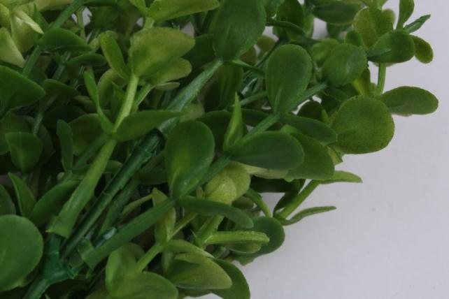 искусственное растение- веточка с листиками зеленая 35см  ava219  2983