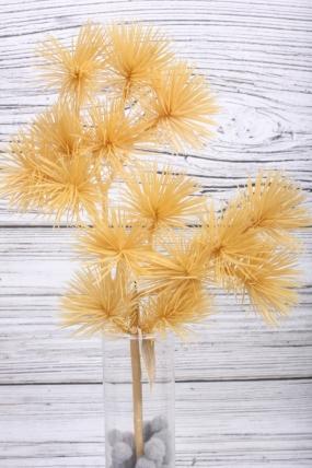 Искусственное растение -  Веточка сосны горной жёлтая  38 см* 20 см  21KW081