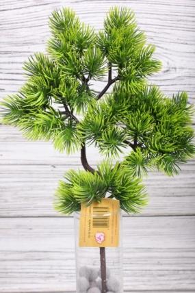 Искусственное растение -  Веточка сосны  35 см* 20 см  21KW084