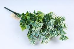 Искусственное растение- Веточка Спиреи японской белой  GAB204В