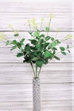 Искусственное растение -  Веточки эвкалипта зелёные 50 см LU6449