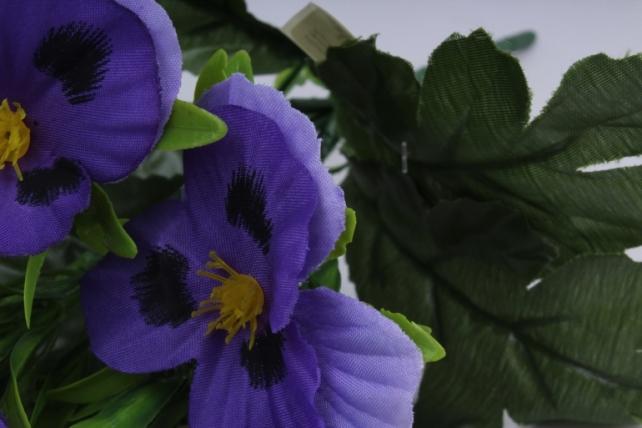 искусственное растение - виола фиолетовая h=27cm