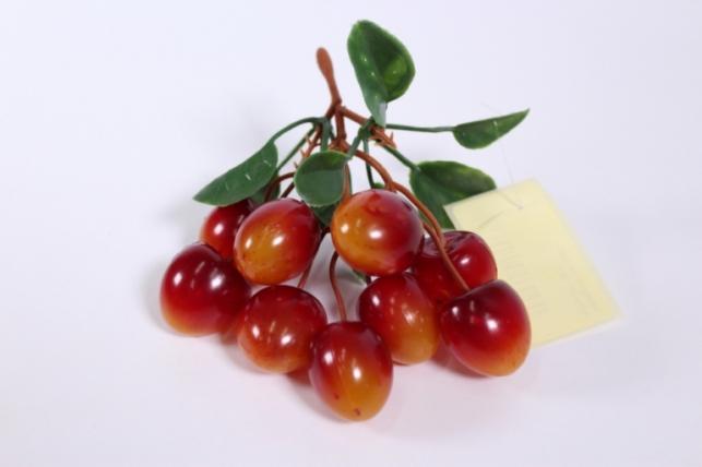 искусственные фрукты - черешня матовая