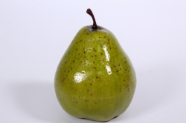 Искусственные фрукты - Груша 9 см