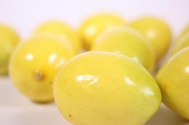искусственные фрукты - лимон 4см (10 штв уп)