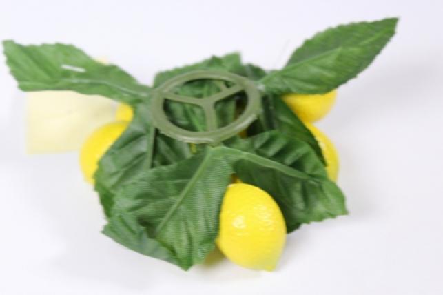 искусственные фрукты - лимон на кольце