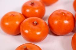 искусственные фрукты - мандарин малый 2 см (10 шт)