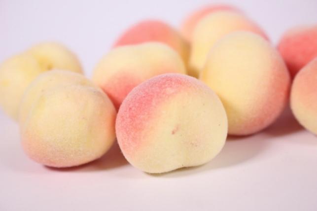 Искусственные фрукты - Персик 3 см (10 шт в уп)