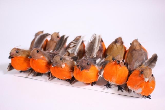 Искусственные Птички (12шт в уп)  Н15АР057 (Код 5657)