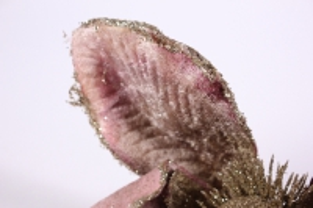 искусственные растения - 0907 пуансеттия золото/бежевая