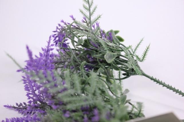 искусственные растения - 3304 вероника сиреневая 21см (5шт в уп)