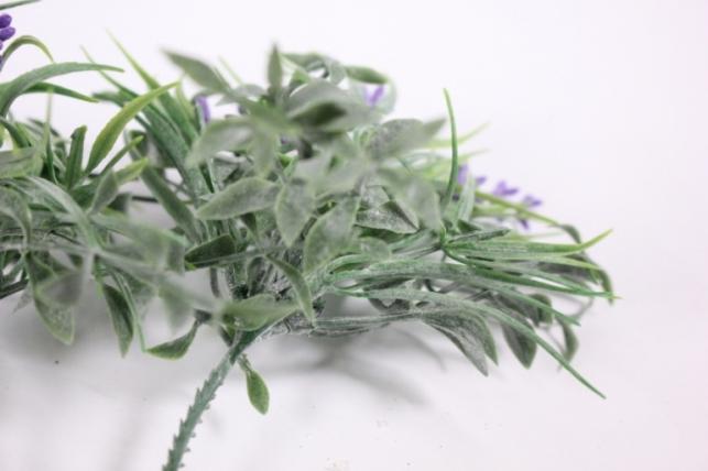 искусственные растения - 3342  ветка сиреневая 23см (5шт в уп)