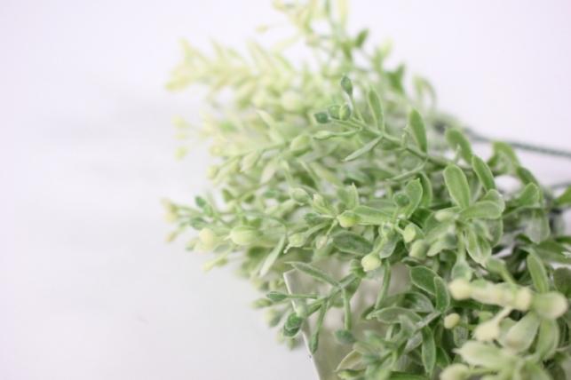 искусственные растения - 3366  ветка салатовая (5шт в уп)