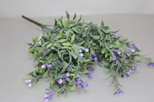 искусственные растения - 5207 лабелия сиреневая с-1967m