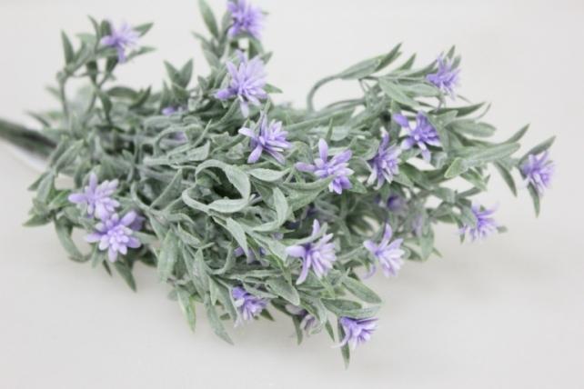 Искусственные растения - 5214 Астра новозеландская С-1994М
