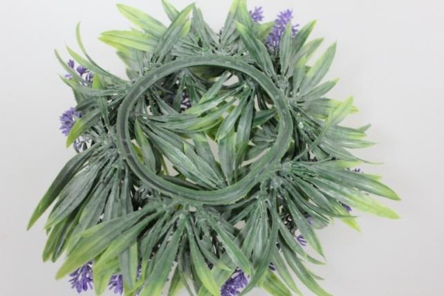 искусственные растения - 5511 венок лаванда d=25см е 170