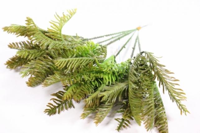 Искусственные растения - 7160 Папортник 21см (6шт в уп)
