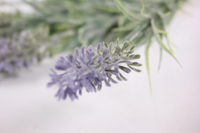 искусственные растения - 8569 лаванда пушистая 25см