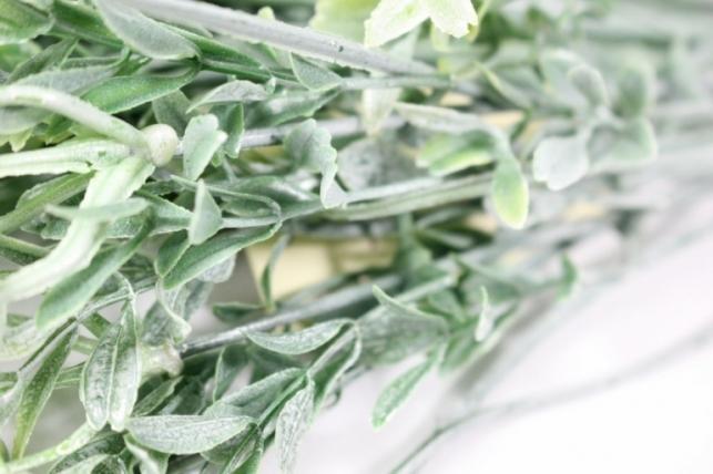 искусственные растения - 9712 гипсофила белая  40см (10шт в уп)