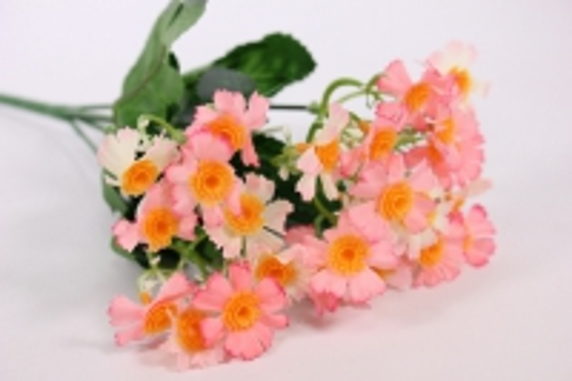 Искусственные растения - Бархотки мини розовые L=30см