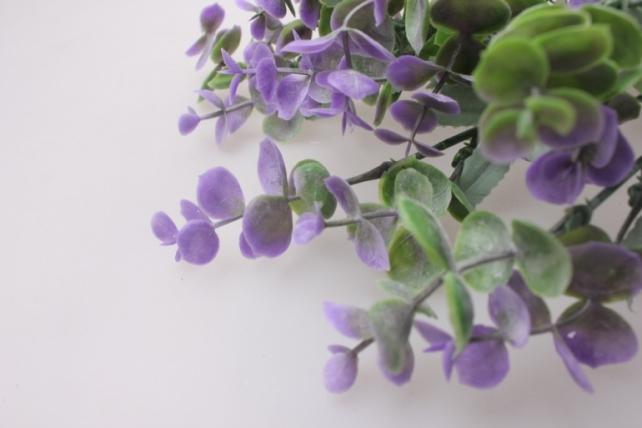 искусственные растения - брусника  лавандовая  а39218