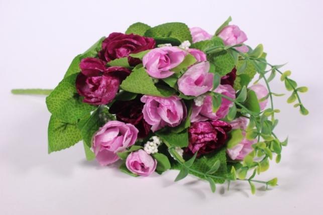 Искусственные растения - Букет декоративный пурпур L=29см