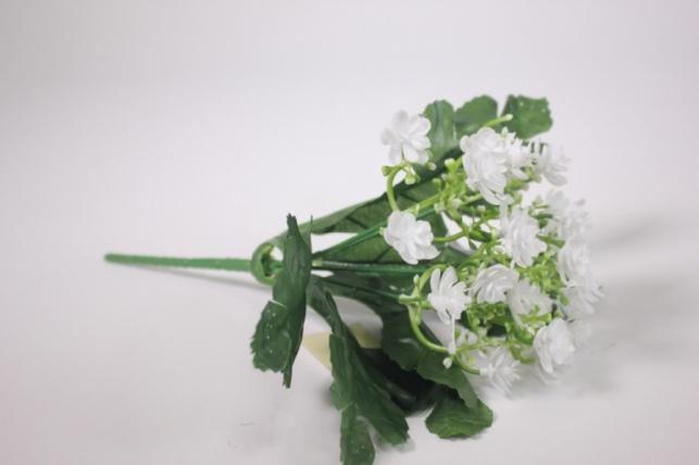 искусственные растения - цветочки мелкие белые