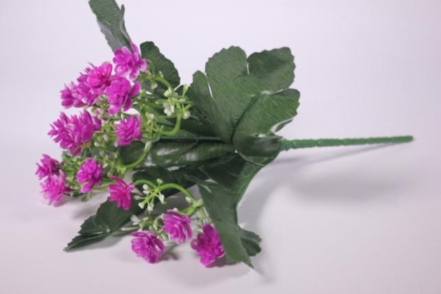 Искусственные растения - Цветочки мелкие фуксия 25см
