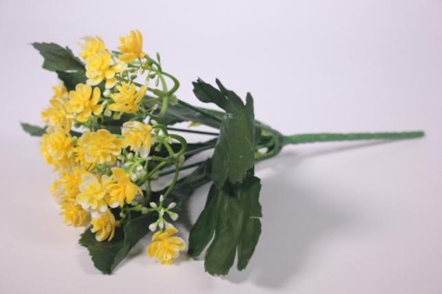 искусственные растения - цветочки мелкие желтые