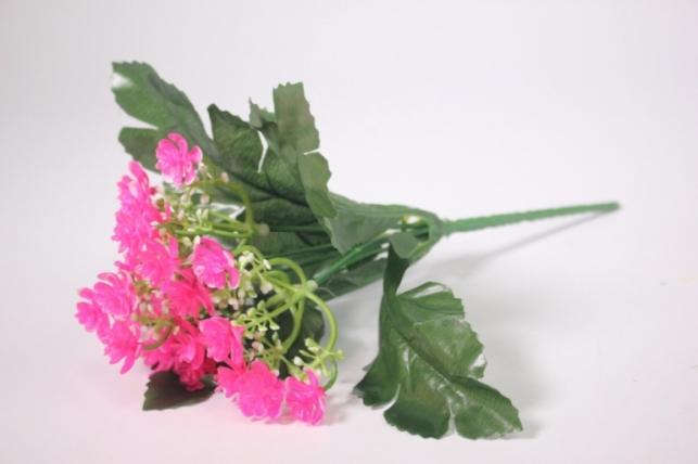 Искусственные растения - Цветочки мелкие малиновые 25см