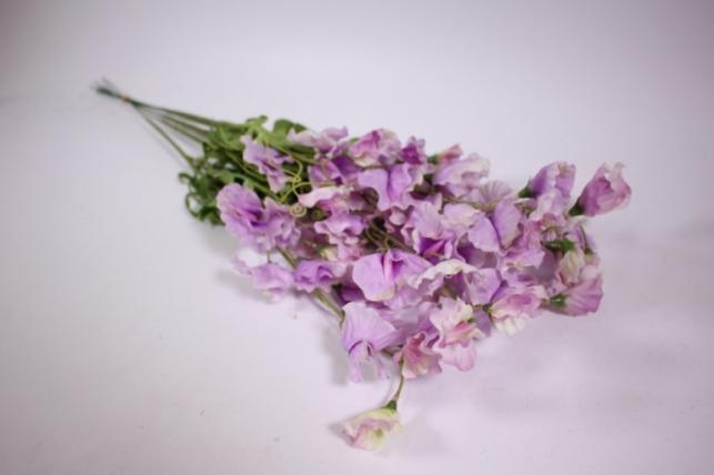 искусственные растения - цветок 45см (6 шт в уп) сиреневый sun486