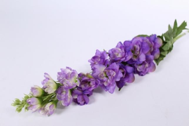 Искусственные растения - Дельфиниум 70см фиолетовый SUN498