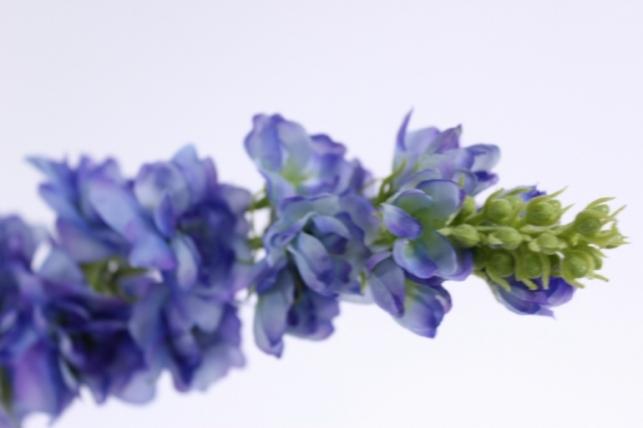 искусственные растения - дельфиниум 70см голубой sun498