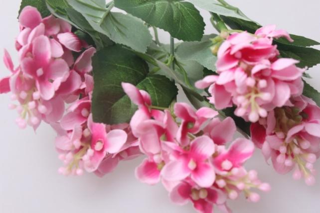 искусственные растения - флоксы розовые 30см   ga74