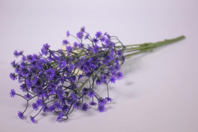 Искусственные растения - Гипсофила фиолетовая 35см