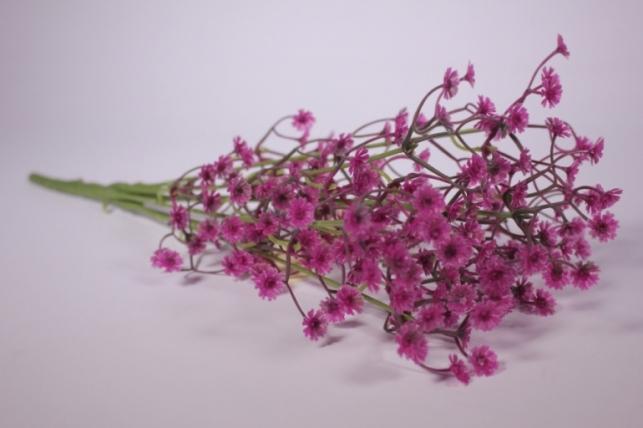 Искусственные растения - Гипсофила фуксия 35см