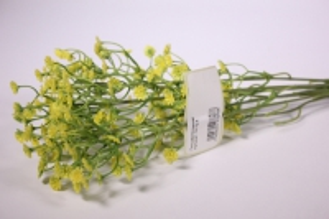 Искусственные растения - Гипсофила желтая 35см