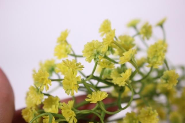 искусственные растения - гипсофила желтая