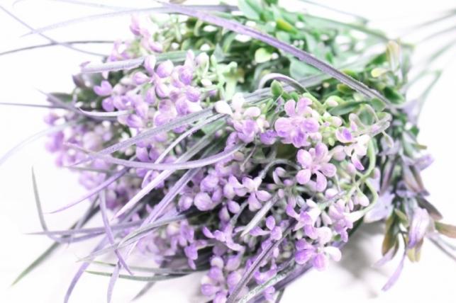 искусственные растения - гипсофила сиреневая 40см (10шт в уп) ava42 (код 9729)