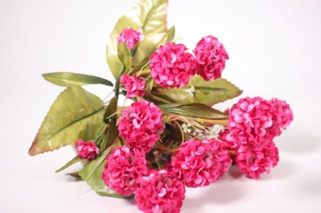Искусственные растения - Гортензия малиновая 40см