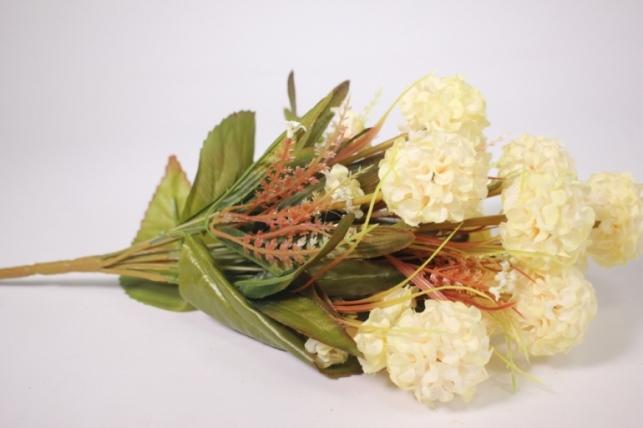 искусственные растения - гортензия шампань