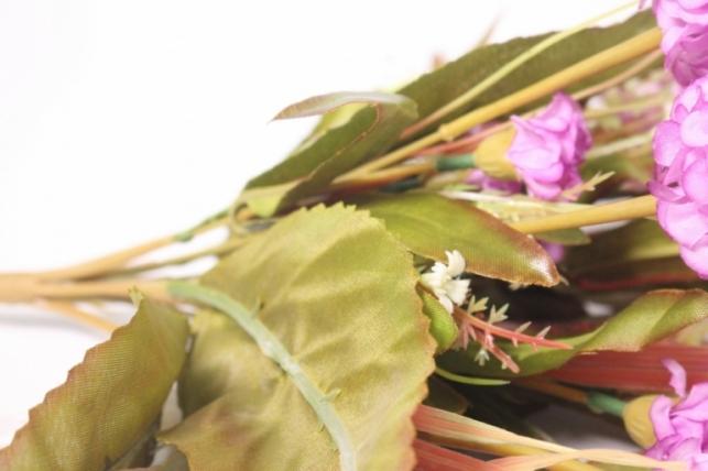 искусственные растения - гортензия сиреневая