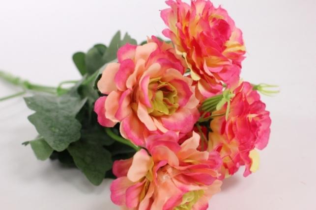 Искусственные растения - Камелия розовая L=35см