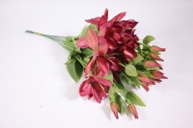Искусственные растения - Клематис бордо 45см(12шт в уп) SUN444