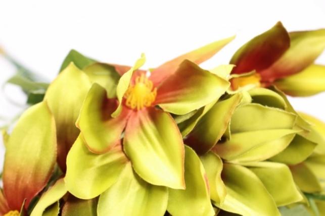 искусственные растения - клематис оливковый 45см(12шт в уп) sun444