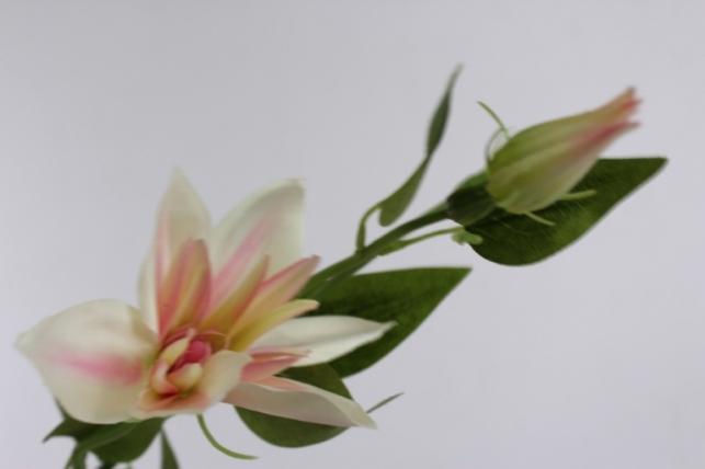 искусственные растения - клематисрозовый45см(12штвуп)sun444
