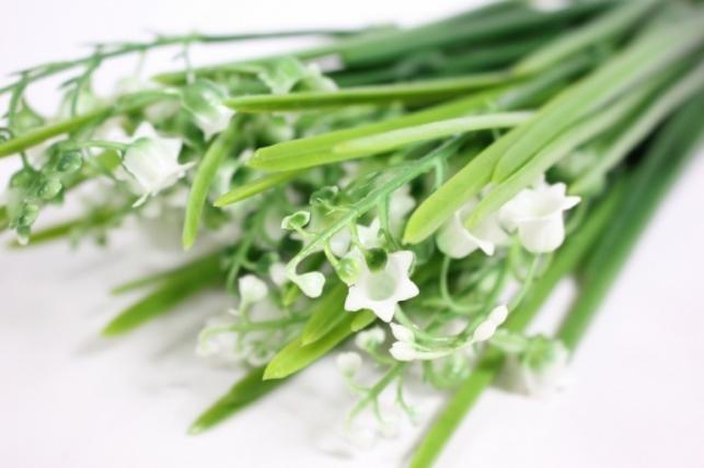 искусственные растения - ландыши 35см kwn11 (код 8538)