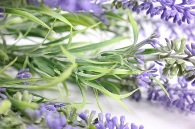 искусственные растения - лаванда 30см (tik042)