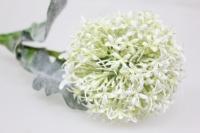искусственные растения - лук цветущий белый 70см y39050